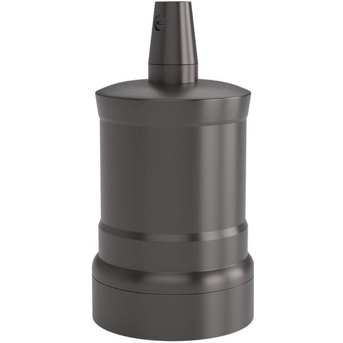 Lightexpert Calex Lamphouder E27 – Ø47mm – H63mm - Parel-Zwart