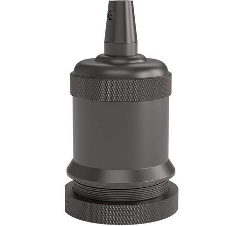 Lightexpert.nl Calex Lamphouder E27 – Ø50mm – H71mm - Parel-Zwart