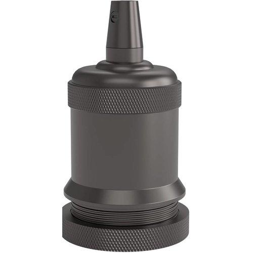 Lightexpert Calex Lamphouder E27 – Ø50mm – H71mm - Parel-Zwart