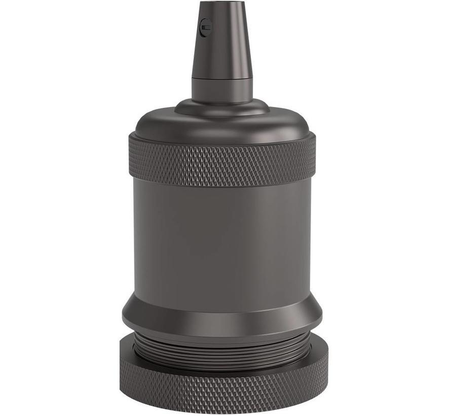 Calex Lamphouder E27 – Ø50mm – H71mm - Parel-Zwart