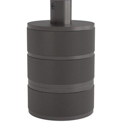 Calex Lamphouder E27 – Ø48mm – H63mm - Parel-Zwart