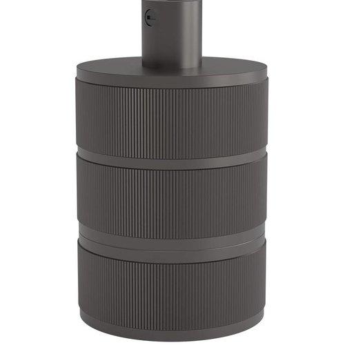 Lightexpert Calex Lamphouder E27 – Ø48mm – H63mm - Parel-Zwart