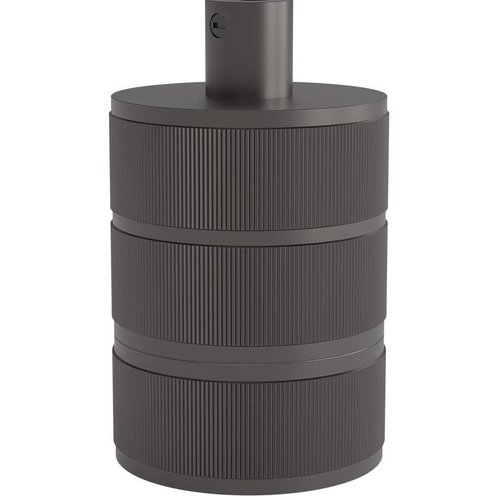 Lightexpert.nl Calex Lamphouder E27 – Ø48mm – H63mm - Parel-Zwart