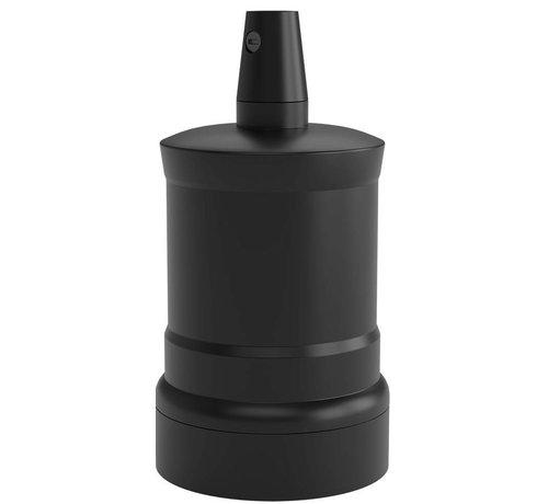 Lightexpert.nl Calex Lamphouder E27 – Ø47mm – H63mm - Zwart