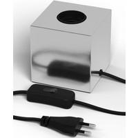 Lightexpert Calex Lamphouder E27 – Lamphouder met Snoer – Zilver