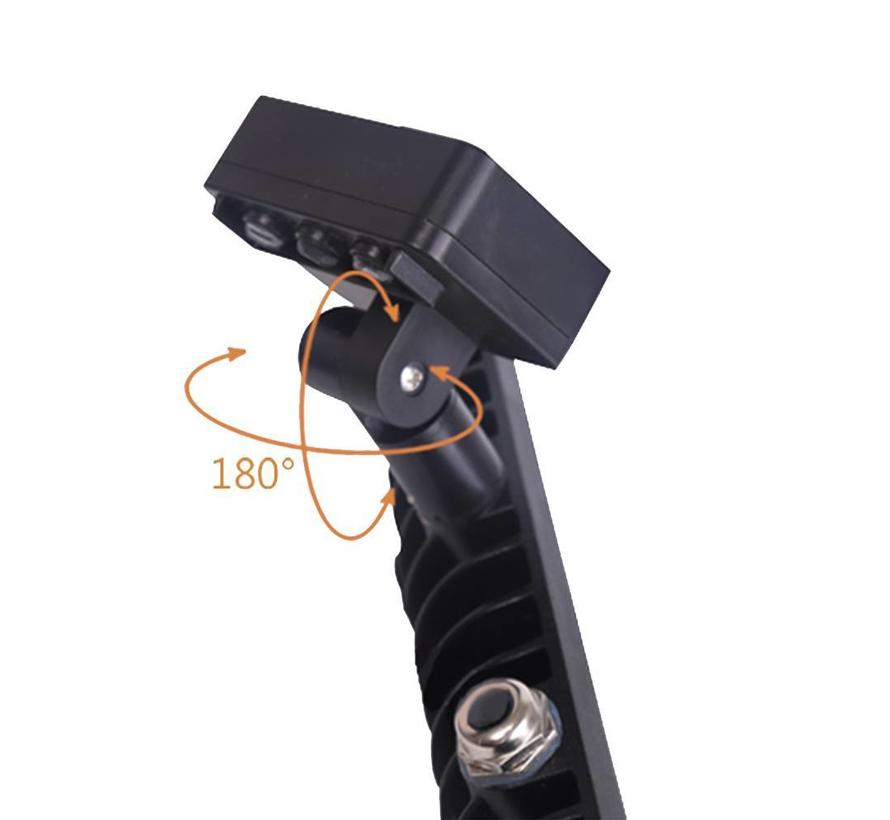 LED Breedstraler met Sensor 10W - 900 Lumen - 4000K