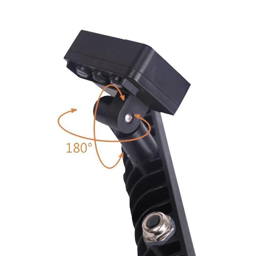 LED Breedstraler met Sensor 10W - 900 Lumen - 6400K