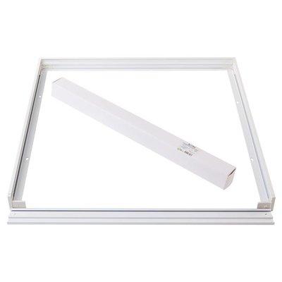 LED Paneel Opbouw 60x60 - Aluminium - Wit