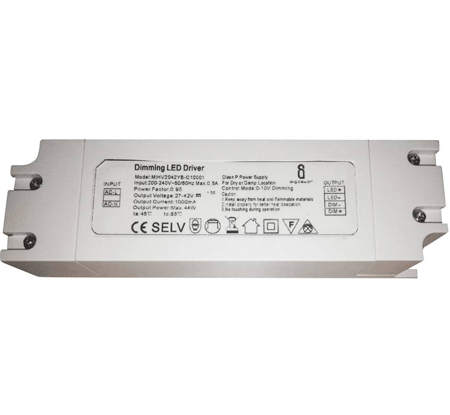 LED Driver Dimbaar voor UGR<19 LED Panelen