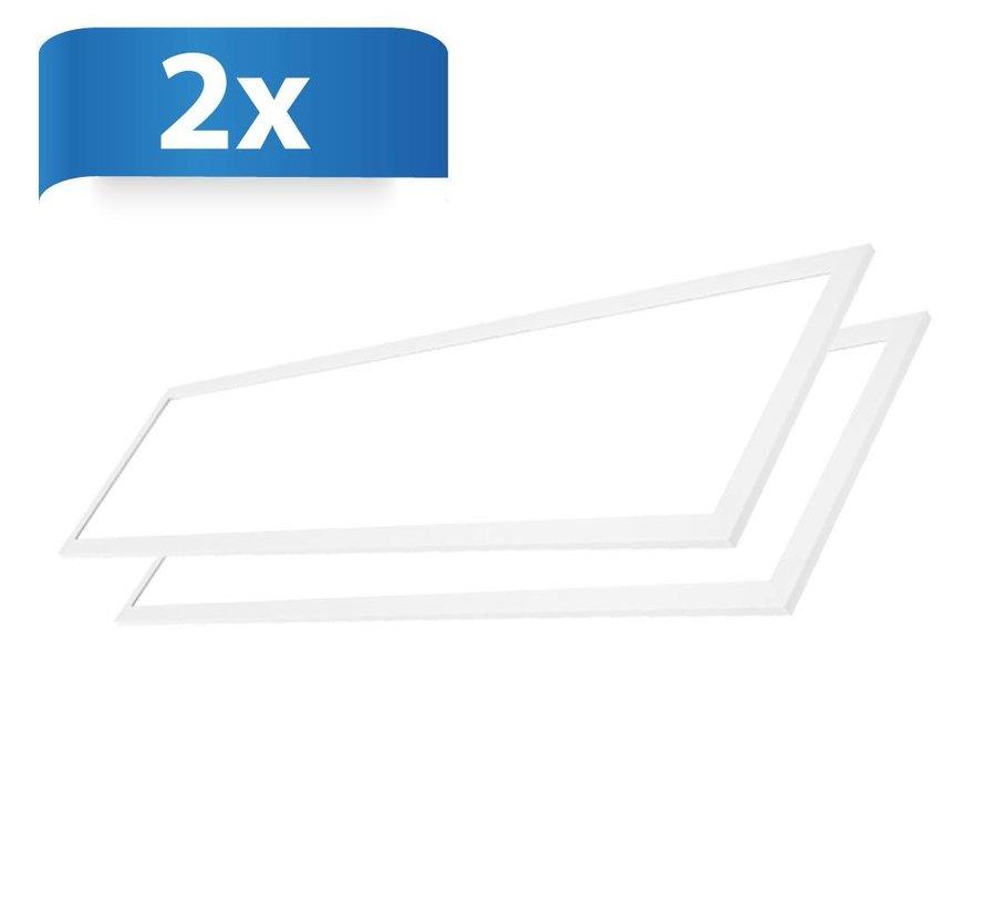 LED Paneel 30x120 - 36W - 4320Lm - 4000K - 2 Stuks