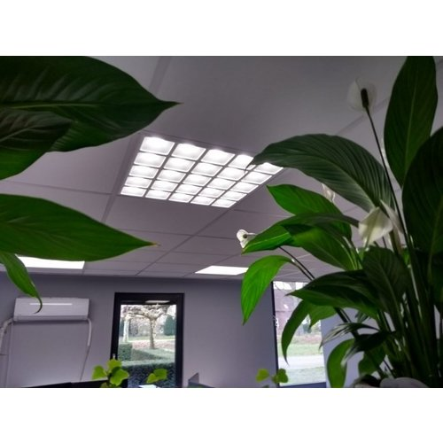 Lightexpert.nl LED Paneel 60x60 - UGR<13 - 36W - 4000K - 4140 Lumen