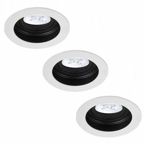Philips LED Inbouwspots Philips Laredo - GU10 - Dimbaar