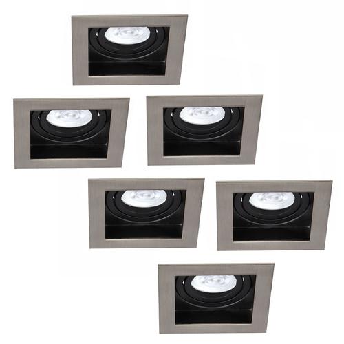 Philips LED Inbouwspots Philips Modesto - GU10 - Dimbaar
