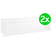 Lightexpert.nl LED Paneel 120x30 - 2 Pack - 40W - 4000K -4000 Lumen