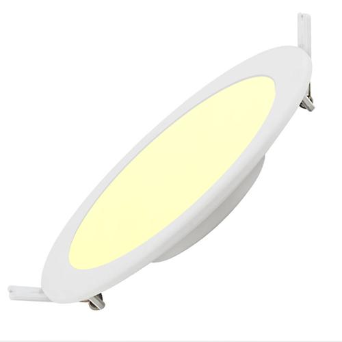 Lightexpert LED Downlight 12W - 3000K - 750 Lumen - Ø170 mm