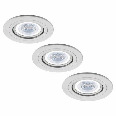 LED Inbouwspots Philips - Chicago - GU10 - Dimbaar