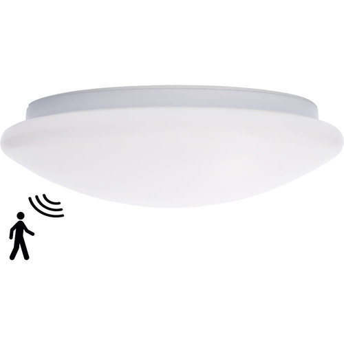 Lightexpert.nl LED Plafondlamp Met Sensor Premium - 18W - Ø32 CM