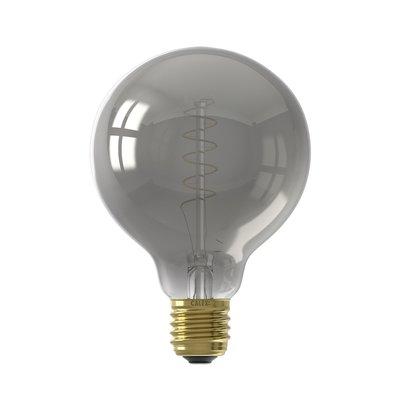 Calex Globe LED Lamp - E27 - 100 Lm - Titanium