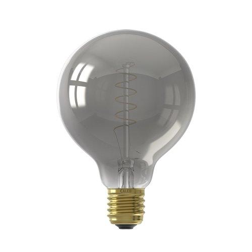 Calex Calex Globe LED Lamp - E27 - 100 Lm - Titanium