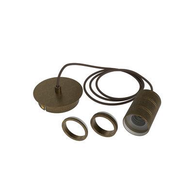 Calex Cord Set E27 - 2 Meter - Brons