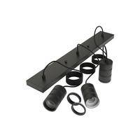 Calex Calex Multi Cord Set - 3x E27 - Zwart
