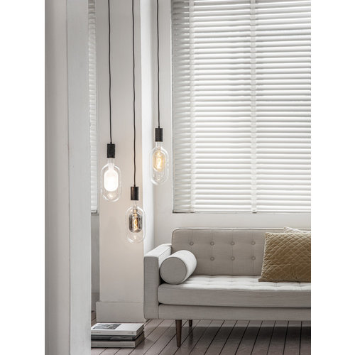 Calex Calex Sundsvall  -  Ø150 - E27 - 100 Lumen – Titanium