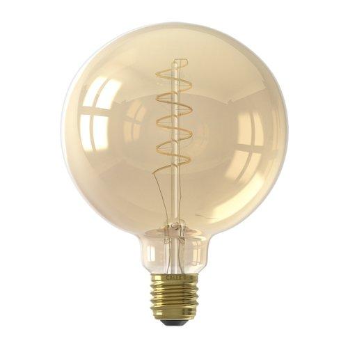 Calex Calex Globe LED Lamp Flex - E27 - 200 Lm - Goud Finish
