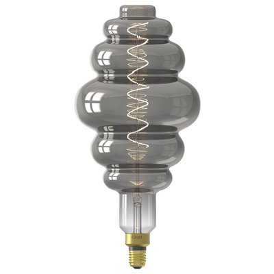 Calex Paris Globe LED Lamp Ø200 - E27 - 100 Lm - Titanium