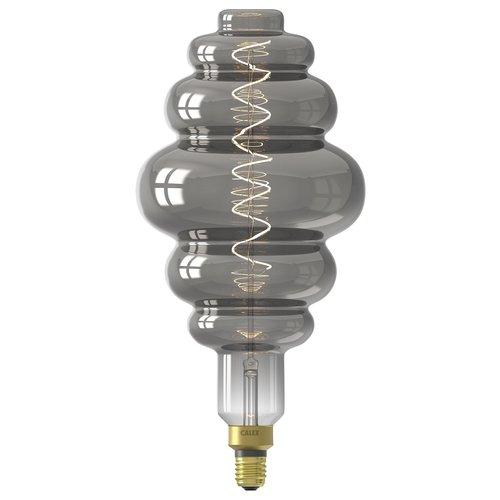 Calex Calex Paris Globe LED Lamp Ø200 - E27 - 100 Lm - Titanium