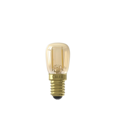 Calex Pilot LED Lamp Filament - E14 - 130 Lm - Goud Finish