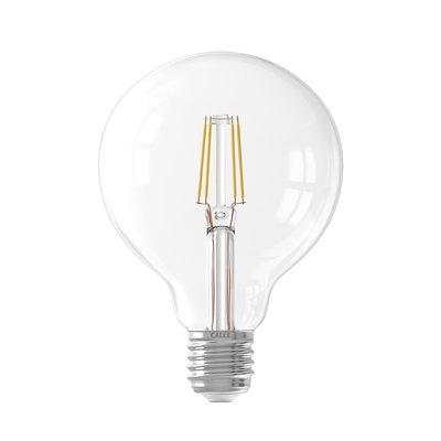Calex Globe LED Lamp Filament - E27 - 600 Lm - Zilver