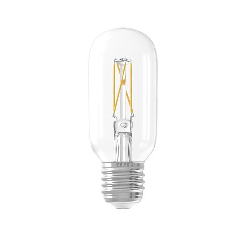 Calex Calex Tubular LED Lamp Warm Ø45 - E27 - 320 Lm - Goud / Clear