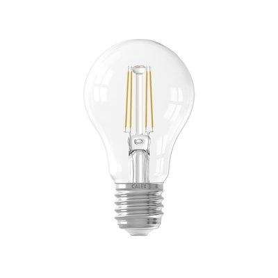 Calex Premium LED Lamp Filament Sensor - E27 - 400 Lm - Zilver