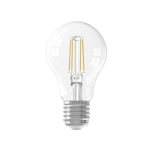 Calex Calex Premium LED Lamp Filament Sensor - E27 - 400 Lm - Zilver