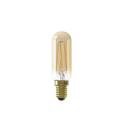 Calex Tubular LED Lamp Warm - E14 - 270 Lm - Goud