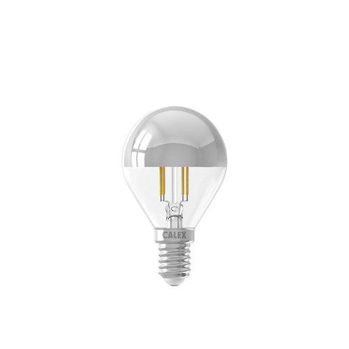 Calex Calex Spherical LED Mirror Lamp Warm - E14 - 310 Lm - Zilver