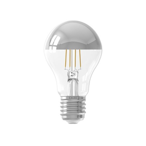 Calex Calex Spherical LED Mirror Lamp Warm - E27 -300 Lm - Zilver