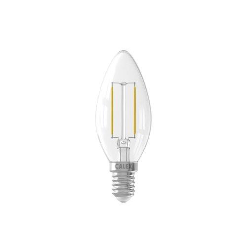Calex Calex candle LED Lamp Filament - E14 - 200 Lm - Zilver