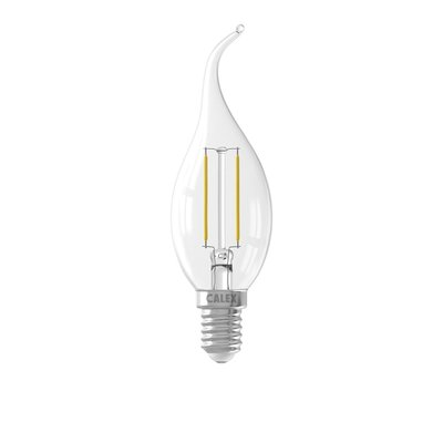 Calex candle Tip LED Lamp Filament - E14 - 200 Lm - Zilver