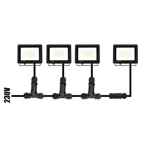 Osram Osram LED Breedstraler met Schemerschakelaar 100W – 6400K