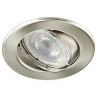 Lightexpert LED Inbouwspot 12V RVS - Dimbaar - 5.5W - Warm White