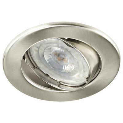 LED Inbouwspot 12V RVS - Dimbaar - 5.5W - Warm White