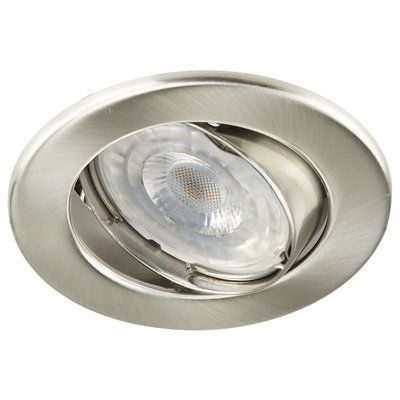 LED Inbouwspot 12V RVS - Dimbaar - 5.5W - Warm White