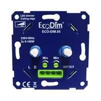 Lightexpert.nl LED DUO Dimmer 2x 0-100 Watt 220-240V
