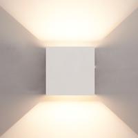 Lightexpert.nl LED Wandlamp Buiten Wit - Tweezijdig - 3000K - 6W - IP65