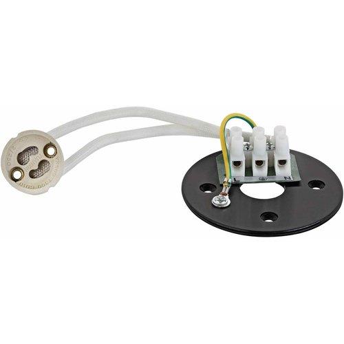 Lightexpert LED Opbouwspot - Rond - Zwart - Kantelbaar - IP20 - Excl. GU10 spot