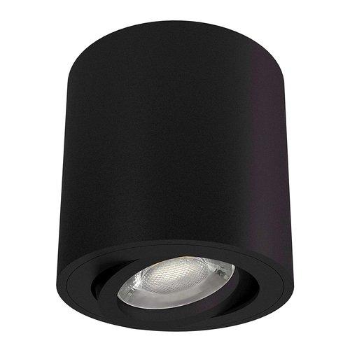 Lightexpert.nl LED Opbouwspot Zwart Kantelbaar Rond