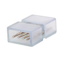 Lightexpert 4-Pins Waterdichte Connector voor RGB Strips - 10 stuks