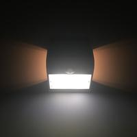 Lightexpert.nl Solar Wandlamp Sensor - 1,5W - 4000K - 220 Lumen - Wit