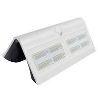 Lightexpert.nl Solar Wandlamp met Sensor - 7W - 4000K - 800 Lumen - Wit